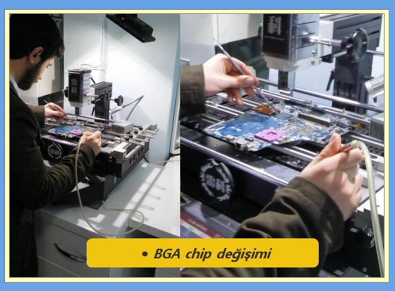 BGA chip değişimi_Aydın Elektronik