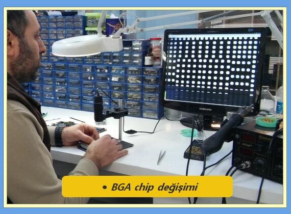 Bga chip yenileme_Aydın Elektronik
